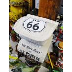 ルート66のトイレットペーパーホルダーカバー アメリカ雑貨 アメリカン雑貨