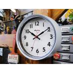 ダルトン クラシック・ウォールクロック(グレー) アメリカ雑貨 アメリカン雑貨壁掛け時計 インテリアおしゃれな部屋 人気