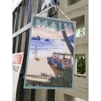 ハワイアン・ウッドプラークサイン(サーフトリップ) ハワイ雑貨 ハワイアン雑貨 壁掛け 人気 おしゃれな部屋 インテリア 通販