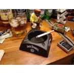 ジャックダニエルのプラ灰皿 アメリカ雑貨 アメリカン雑貨 灰皿 卓上 おしゃれ 喫煙グッズ パブグッズ bar アシュトレイ