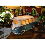 Yahoo!アメリカ雑貨通販キャンディタワーワーゲンバスのナイトランプ(ブルー) アメリカ雑貨 アメリカン雑貨 ランプ 人気 インテリア 雑貨