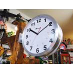 ダルトン ダブルフェイスウォールクロック Lサイズ(シルバー) アメリカ雑貨 アメリカン雑貨 壁掛け時計 インテリア 生活雑貨 ギフト 通販 人気
