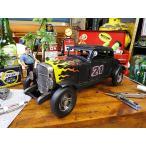ホットロッドカーのブリキオブジェ アメリカ雑貨 アメリカン雑貨 人気 インテリアおしゃれな部屋 通販 ダイキャストカー 小物 ミニカー