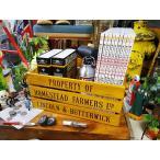 ホームステッド ファーマーズボックス アメリカン雑貨 木箱 収納 アンティーク  アメリカ インテリア カントリー雑貨