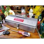 マーキュリーツールボックス(シルバー)  ■ アメリカン雑貨 アメリカ雑貨 MERCURY 道具箱 ブランド 工具箱 人気 インテリア 雑貨