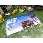 ハワイアン・ビーチタオル(ワーゲンバス/ブルー) アメリカ雑貨 アメリカン雑貨 ハワイグッズ ハワイアン雑貨 おしゃれ 人気