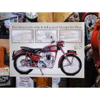 トライアンフのブリキ看板 1957 サンダーバード アメリカン雑貨