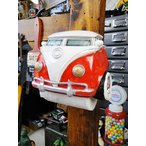 クラシックカーのトイレットペーパーホルダー(ワーゲンバス) アメリカ雑貨 アメリカン雑貨 インテリア 雑貨 グッズ 人気