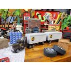 UPSトレーラーのミニカー アメリカ雑貨 アメリカン雑貨 アメリカ 雑貨 インテリア おしゃれ 人気