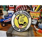 ロードランナーのレトロワッペン アメリカ雑貨 アメリカン雑貨 おしゃれ アイロン ブランド アメリカ エンブレム ロゴ 通販