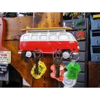 ワーゲンバスのキーラック(サイドシルエット) アメリカン雑貨