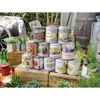 ヴィンテージ缶詰のレプリカ缶 12個セット アメリカン雑貨