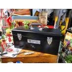 インダストリアル・ユーティリティボックス Lサイズ(ブラック) アメリカ雑貨 アメリカン雑貨 道具箱 工具箱 おしゃれ 人気 インテリア 雑貨