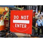 アメリカの進入禁止の標識のステッカー バッドアス・ステッカー#007 アメリカン雑貨