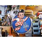 ビッグボーイのエンボス・ティンサイン アメリカ雑貨 アメリカン雑貨 サインプレート ティンサインボード
