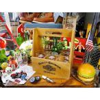 ショッピングハーレーダビッドソン ハーレーダビッドソンのクレートキャリー&グラス6本セット アメリカ雑貨 アメリカ 輸入 インテリア グッズ 雑貨 人気