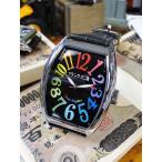 天才時計師フランク三浦の腕時計(六号機(改)デカ時計タイプマグナム/レインボーブラック) アメリカ雑貨 アメリカン雑貨