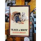 世界のお酒の3Dパブサイン(ブラック&ホワイト) アメリカン雑貨 アメリカ雑貨