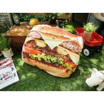ジャンクフードクッション(ハンバーガー) アメリカン雑貨 アメリカ雑貨