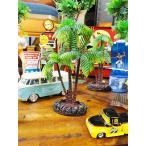 南の島のヤシの木のオブジェ(台付き/Sサイズ) アメリカン雑貨 アメリカ雑貨