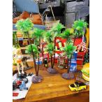 南の島のヤシの木のオブジェ(台付き/Lサイズ3個セット) アメリカン雑貨 アメリカ雑貨