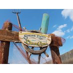 ショアバード・バー&グリルの木製看板 アメリカ雑貨 アメリカン雑貨