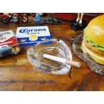 コロナビールのガラスアシュトレイ アメリカ雑貨 アメリカン雑貨