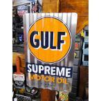 ガルフの波板ストアサイン アメリカ雑貨 アメリカン雑貨
