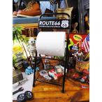 ルート66のトイレットペーパーホルダー アメリカ雑貨 アメリカン雑貨