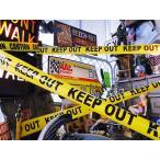キープアウトのバリケードテープ KEEP OUT アメリカ雑貨 アメリカン雑貨