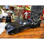 1989年バットモービルのダイキャストモデルカー(バットマン付き) アメリカ雑貨 アメリカン雑貨