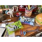 ミシュラン クリアポーチ 大小2個セット(イエローS+ブルーM) ■ アメリカン雑貨 アメリカ雑貨