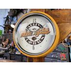 ハーレーダビッドソン レトロダイナークロック ■ アメリカン雑貨 アメリカ雑貨 壁掛時計