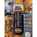 ハーレーダビッドソン ミニモーターサイクルサーモメーター ■ アメリカン雑貨 アメリカ雑貨 温度計