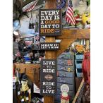 ハーレーダビッドソン バイカーパブサイン 3個セット ■ アメリカン雑貨 アメリカ雑貨