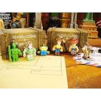 ショッピングトイストーリー トイストーリーのキャラクターストラップ 6体セット アメリカン雑貨 アメリカ雑貨