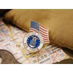 ミリタリーピンバッジ(エアフォース&星条旗) アメリカ雑貨 アメリカン雑貨
