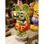 アメリカ雑貨 ラットフィンクのボビンヘッド(グリーン) アメリカン雑貨 ラットフィンク フィギュア グッズ 首振り人形 おしゃれ 人気 アメキャラ