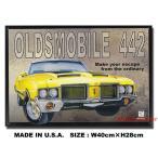 アメリカンブリキ看板 オールズモビル -442 アメリカ雑貨 アメリカン サインプレート ティンサインボード インテリア 壁飾り おしゃれ 人気 壁掛け - 3,024 円