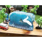 ビッグウェーブサーファーのティッシュボックス アメリカ雑貨 アメリカン雑貨 キャラクター 人気 ハワイグッズ ハワイアン雑貨 おしゃれ