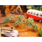 南の島のヤシの木のオブジェ(6個入り/ミニミニ6個) アメリカ雑貨 アメリカン雑貨