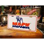 マックトラックのライセンスプレート アメリカ雑貨 アメリカン インテリア 壁飾り おしゃれな雑貨屋さん 小物 通販 人気 輸入 ガレージ用品