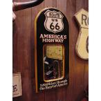 ルート66のウッドミラーボード アメリカ雑貨 アメリカン雑貨