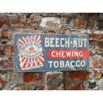 昔のアドバタイジングのウッドサイン(タバコ) アメリカ雑貨 アメリカン雑貨 おしゃれなガレージ 壁掛け インテリア カントリー雑貨