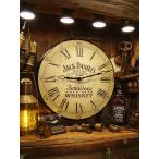 ジャックダニエルのトラディショナルクロック(Lサイズ) アメリカン雑貨 アメリカ雑貨   壁掛け時計 おしゃれ アンティーク 大きい
