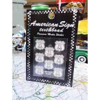 ルート66のステッカー(マザーロード/州名入り小/ホワイト) アメリカ雑貨 アメリカン雑貨 車 シール ブランド