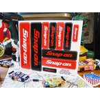 スナップオンのステッカー(ロゴ10セット) アメリカ雑貨 アメリカン雑貨 車 シール ブランド