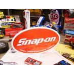 スナップオン オーバルステッカー Sサイズ アメリカ雑貨 アメリカン雑貨 車 シール ブランド