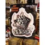 バイカーズステッカー(Motorcycle Madness) アメリカ雑貨 アメリカン雑貨 車 シール ブランド