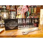 ハーレーダビッドソン バンパーステッカー(クロームエンブレム) アメリカ雑貨 アメリカン雑貨 車 シール ブランド
